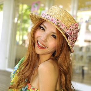 (Aimee Toff)Aimee Toff Japanese sweet girl sun hat (pink)