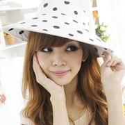 (Aimee Toff)Aimee Toff spring sweet fresh air visor (black)
