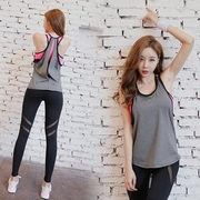 Fox, fake two-piece sexy road running sports vest (single coat)