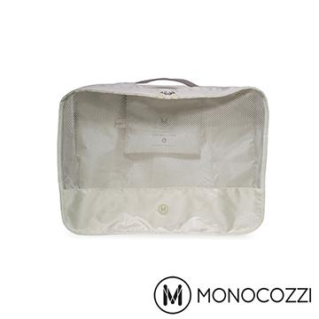(MONOCOZZI)MONOCOZZI Lush travel clothing storage bag Apparel Pack (S) - Khaki