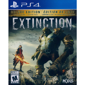 """PS4 """"Murder Deluxe Edition extinction Extinction Deluxe Edition"""" English US version"""