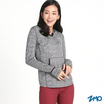 ZMO-เสื้อโค้ท เสื้อฮู้ดมีหมวก เสื้อกันหนาว TS482 / สีเทา