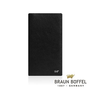 (BRAUN BUFFEL)[BRAUN BUFFEL] German Taurus Luis series 14 card thin long clip (black)
