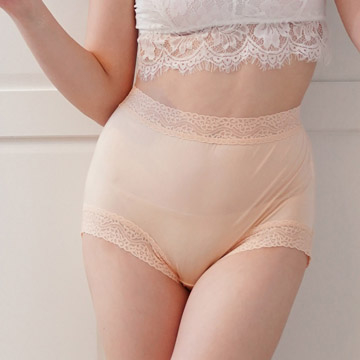 (Chlansilk)[Chlansilk] top silky 40-pin 100% silk underpants -8797 (skin color)