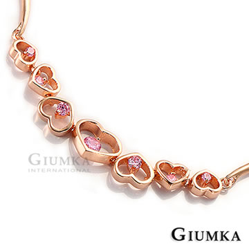 (GIUMKA)[GIUMKA] Heart Linked Bracelet MB310