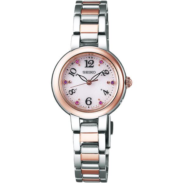 (SEIKO)SEIKO Seiko vivace solar wave female watch - two-color / 25mm 1B21-0AM0KS (SWFH050J)