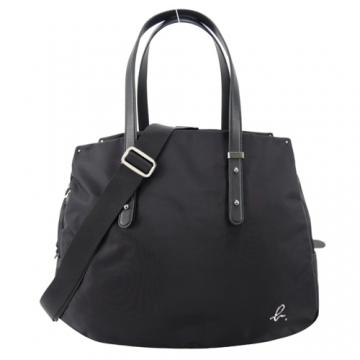 (agnes.b)agnes b. Metal b plain bag - black