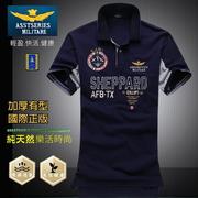 (UF72) เสื้อยืดกัน UV ใยฝ้ายธรรมชาติ ไม่อับชื้น AF-827 / สี Navy