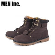 (Men Inc.)Men Inc. Hardcore Wear-resistant Work Boots (Brown)