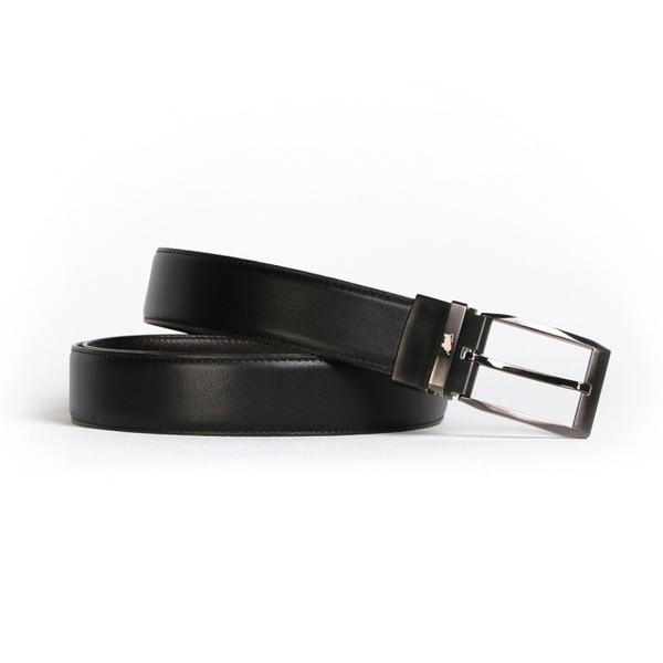 (BRAUN BUFFEL)[BRAUN BUFFEL German Golden Bull] Classic gentleman taste needle belt (gun color)