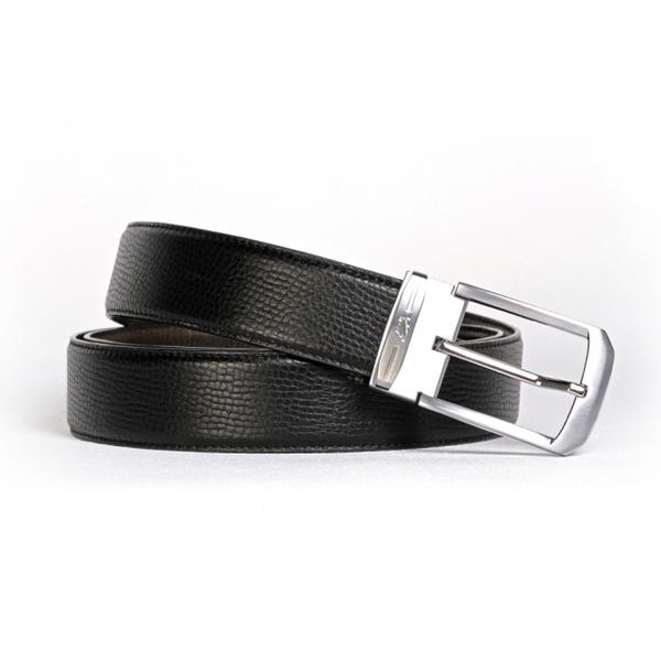(BRAUN BUFFEL)[BRAUN BUFFEL German Golden Taurus] calm gentleman taste needle belt (silver)