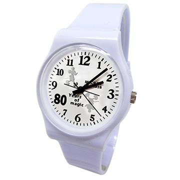 (Disney)[Disney Disney 80th anniversary Mickey Memorial watch _ white