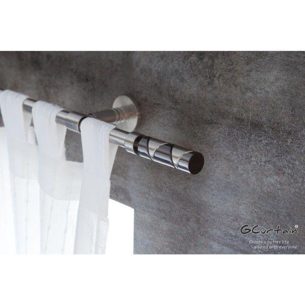 [GCurtain] สไตล์โมเดิร์นสไตล์อุตสาหกรรมผ้าม่านชุดแกน GCZ10006 (170-310 ซม. สมัยนิยมที่เรียบง่าย)