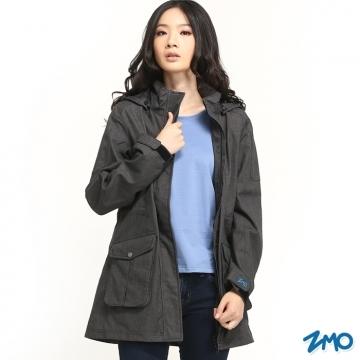 (ZMO)[ZMO] female weatherproof windbreaker jacket JG360 / black / MIT Made in Taiwan