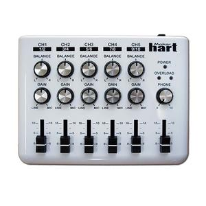 3.5mm audio mixer เครื่องผสมสัญญาณเสียง Hart LOOP MIXER - เครื่องผสมเสียงสเตอริโอ 5 แช็กพร้อมเครื่องผสมเสียงวงแหวน