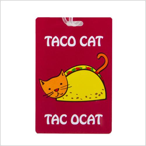 (TRAVELON)TRAVELON Lightweight Luggage Tag (Burrito Cat)