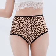 (Chlansilk)[Chlansilk ? ?] high waist section - classic leopard 100% silk panties - 8837-1 (colour)