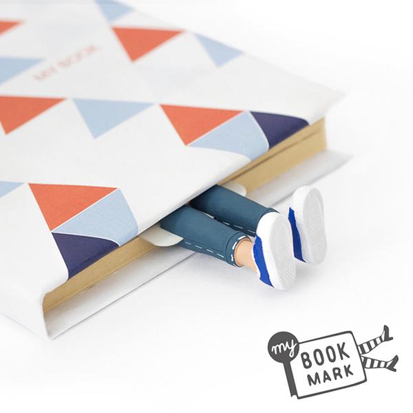 (myBookmark)Ukrainian myBookmark - jeans boy's bookmark