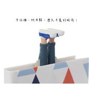 [myBookmark] ที่คั่นหนังสือแฮนด์เมด เด็กชายใส่ยีนส์