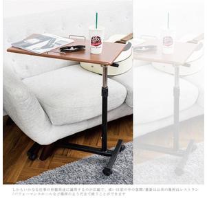 【 EnjoyLife 】โต๊ะข้างเตียงปรับระดับความสูงได้ 6 ระดับ