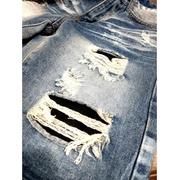 [Myj] กางเกงผ้ายีนส์‧กางเกงผ้ายีนส์‧กางเกงขาสั้นผ้ายีนส์‧กางเกงทำลาย‧กางเกงขาสั้นห้านิ้ว‧กางเกงยีนส์รูกระโปรง‧มีดตัดกางเกงยีนส์‧กางเกงกางเกงขาสั้น‧กางเกงขาสั้น
