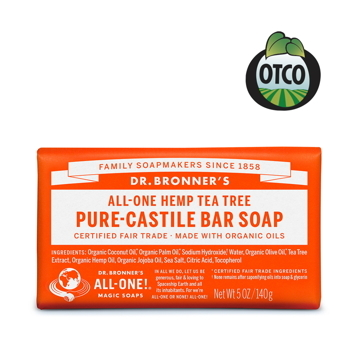 (Dr.Bronner\'s)Dr. Brown Tea Tree Cleansing Soap 140g/5oz
