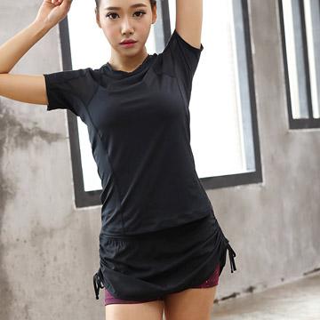 [ฟ็อกซ์] ทางของตัวเอง Ji กางเกงขาสั้นกางเกงโยคะคู่ถนนชุดแข่งขันกางเกงขาสั้น (กางเกงเดียว)