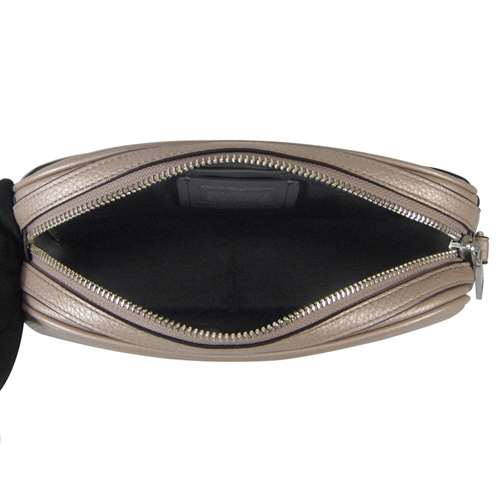 (COACH) Empire COACH กระเป๋าสะพายหนังแท้ สายโซ่ (สีแชมเปญโกล์ด)