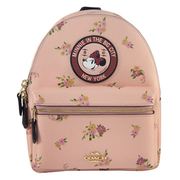 COACH กระเป๋าเป้ ลายดอกไม้ มินนี่ Limited Collection
