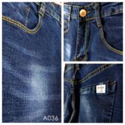 [Myj] กางเกงยีนส์‧กางเกงท่อแคบ‧พู่กันสี denim ‧ขนาดเล็กเส้นตรง‧กางเกงตรง‧กางเกงผ้ายีนส์‧บุคลิกภาพผ้ายีนส์‧บางเฉียบ‧ยืดหยุ่น M ~ 2XL