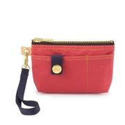 Satana - กระเป๋าเครื่องสำอางซิปทหาร / กระเป๋าเงินเหรียญ - Rococo Red