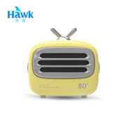 (Hawk)Hawk Mini TV Wireless Bluetooth Speaker - Yellow