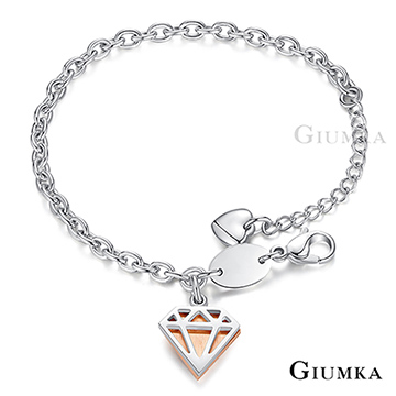 (GIUMKA)[] GIUMKA diamond bracelet rose gold MH5067