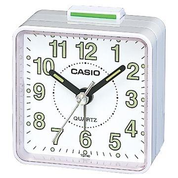(CASIO)[CASIO] Desktop alarm clock pointer (white flour shell)