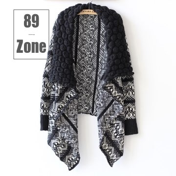 (89 zone)89 zone autumn and winter European and American fashion knit shawl
