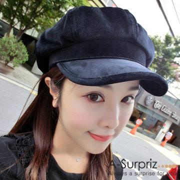 (A-Surpriz) A-Surpriz เวอร์ชั่นเกาหลีผ้ากำมะหยี่สีเบจ (สีดำ)