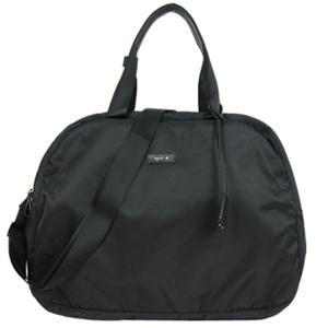 (agnes b)Agnes b. Arc travel bag (large / black)
