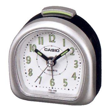 (CASIO)CASIO luminous pointer Desktop Alarm Clock (Silver)