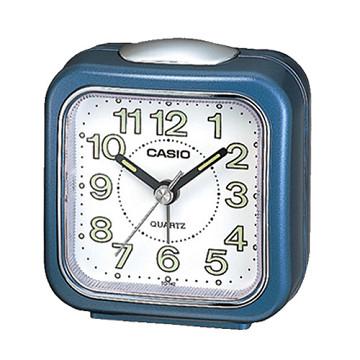(CASIO)CASIO pointer Desktop Alarm Clock - Blue
