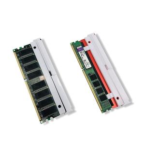 EZDIY-FAB RGB DDR RAM หน่วยความจำ Radiator ระบายความร้อน Cooling Shell Scattering การสูญเสียข้อมูล DIY การเล่นโอเวอร์คล็อกคอมพิวเตอร์ MOD DDR3 DDR4 Black - 1 Pack