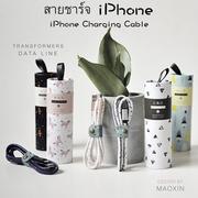 สายชาร์จ iPhone / Android สายชาร์จของขวัญคริสต์มาส [H81018]