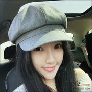 (A-Surpriz )A-Surpriz elegant lady mixed woolen beret (light gray)