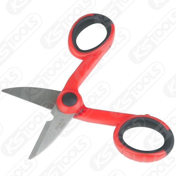 (KS TOOLS)Germany KS TOOLS Universal Scissors 143mm 118.0013