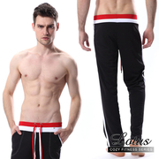 (LOTUS)[LOTUS] sports casual comfortable breathable home pants - black MD4A7-BK