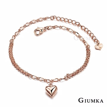 (GIUMKA)[GIUMKA] wish anklet rose gold ML4016-2