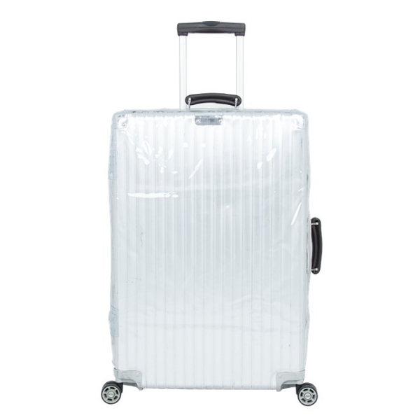 (台製保護套適用RIMOWA四角加厚款)Taiwanese protective cover for RIMOWA-CLASSIC FLIGHT retro models, fit and cut, transparent four-corner thickening