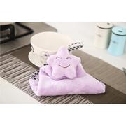 (G + Home) [G + Home] ผ้าเช็ดมือรูป - Smile Star (เขียวอ่อน)
