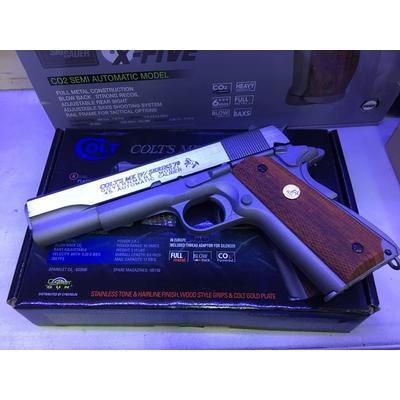 M1911 Colt Rail gun Co2 Cybergun