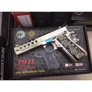 M1911 HEX CUT CUSTOM (SILVER) WE