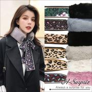 A-Surpriz Dongdaemun เลียนแบบกระต่ายผมผูกผ้าพันคอริบบิ้น (6 สี)